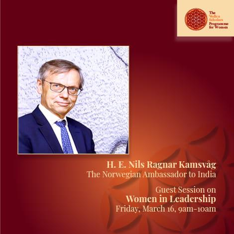 Norwegian Ambassador to India at Vedica
